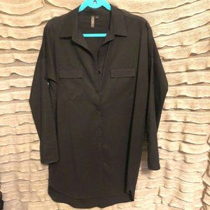 Allison Joy black shirt dress tunic